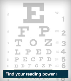 Find your reading power