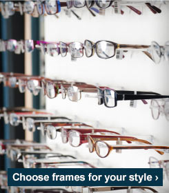Choose frames for your style