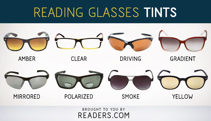 Reading Glasses Tints