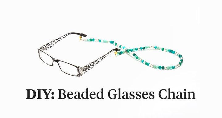 Beaded Reading Glasses Chain Tutorial