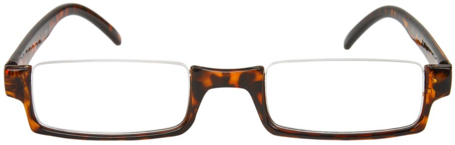 The Brent Tortoise Shell Semi-Rimless Reading Glasses