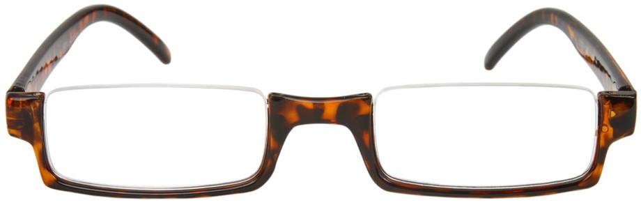Half Frame Tortoise Shell Reading Glasses : The Brent Tortoise Shell Semi-Rimless Reading Glasses