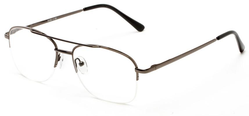 semi rimless aviator reading glasses up to 6 00 power