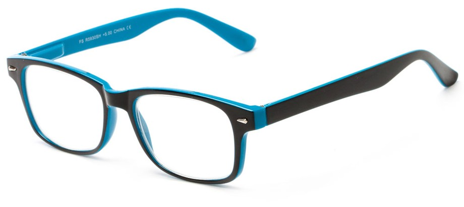 Glasses Frames For High Power : High Power Two-Tone Reading Glasses Up to +7.00