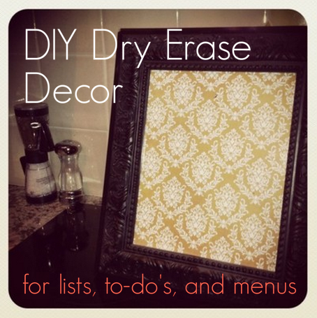 crafting for lists, to-do's, and menus