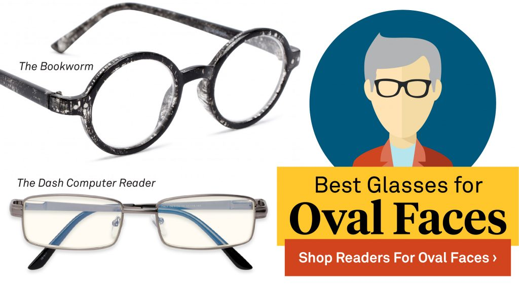 779534cbd62 Oval and oblong face shapes are lucky  they can basically pull off any type  of glasses style. Round