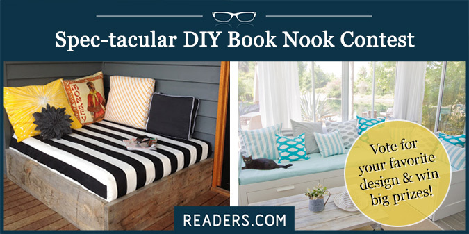 Spec-tacular Reading Nook Contest