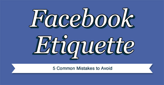 Facebook mistakes to avoid