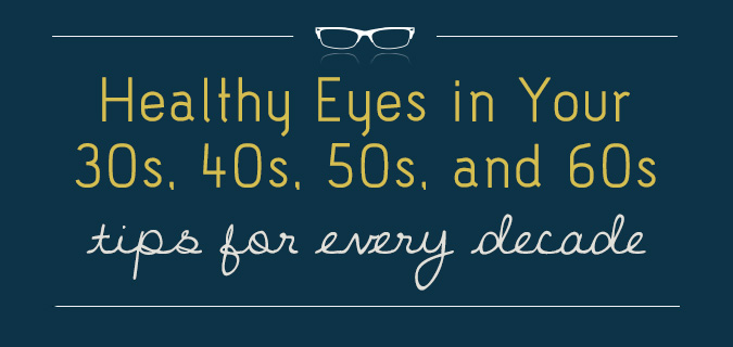Healthy Eyes in Your 30s, 40s, 50s, and 60s