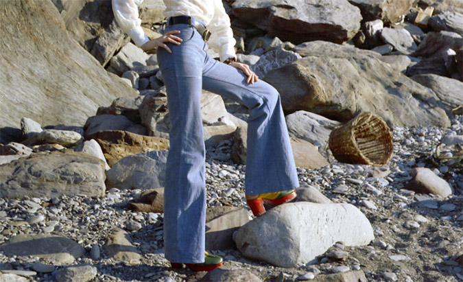 bell-bottoms