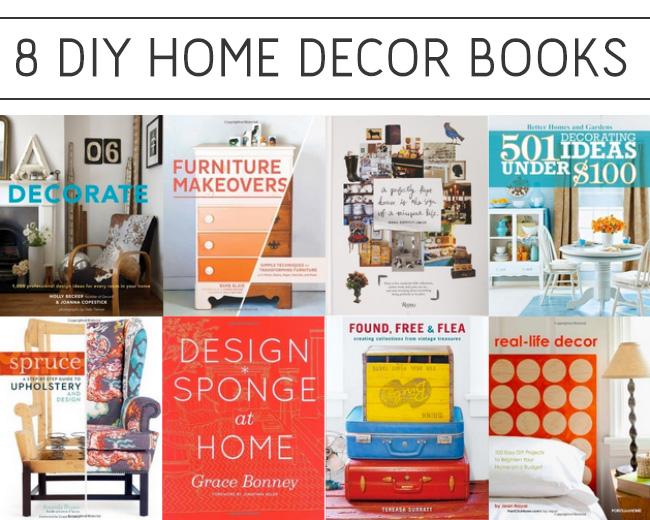 8 books for home diy projects