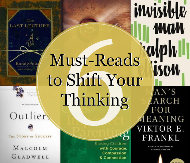 6 Books to Shift Your Thinking