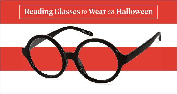 reading glasses to wear on halloween