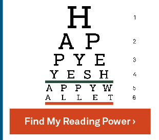 Find My Reading Power