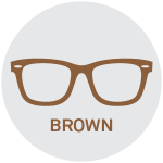 Brown Reading Glasses
