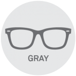 Gray Reading Glasses
