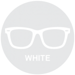 White Reading Glasses