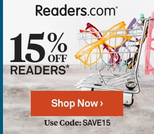 Get 15% OFF Reading Glasses