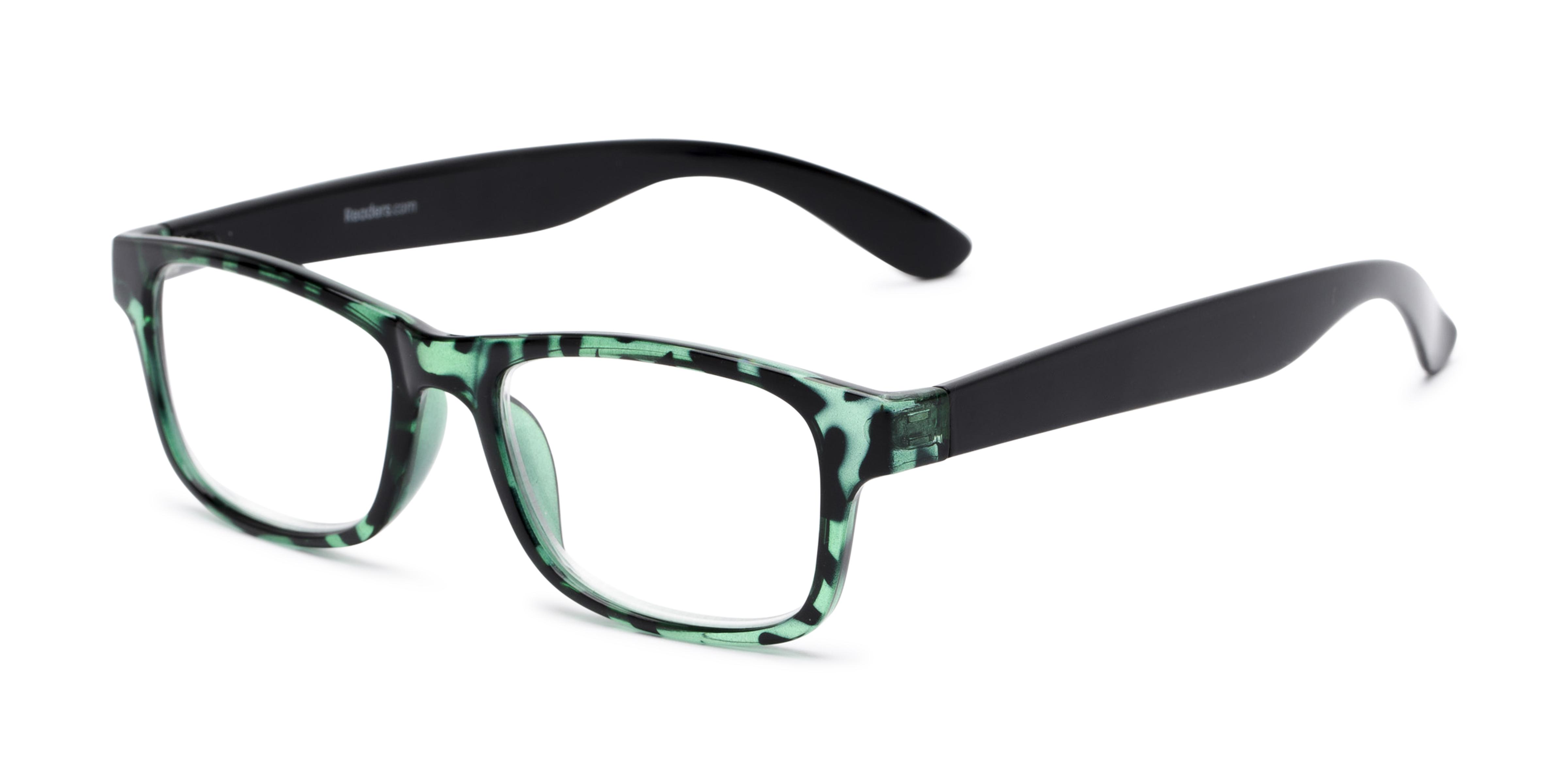 The Buchanon +1.50 Green Tortoise