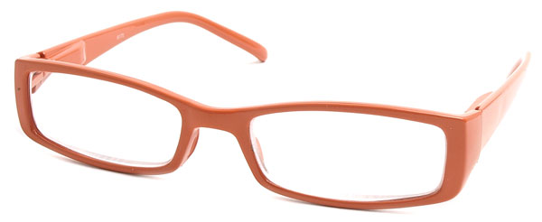 Orange Reading Glasses for Women