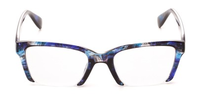 semi rimless fashion cat eye