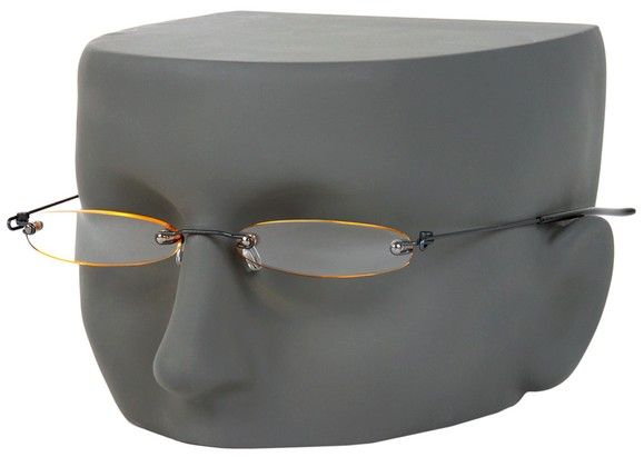 Slim Rimless Reading Glasses