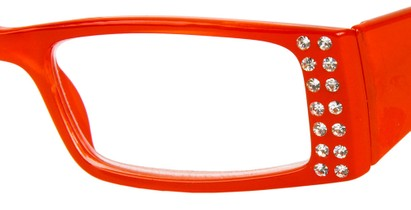 Red Rhinestone Reading Glasses