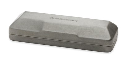 Angle of Reading Glasses Case #906 in Silver, Women's and Men's  Hard Cases