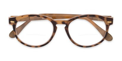 Folded of The Actor Bifocal in Light Brown Tortoise