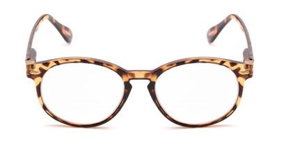 Front of The Actor Bifocal in Dark Brown Tortoise
