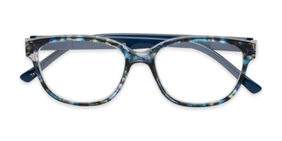 Folded of The Adele in Tortoise/Blue