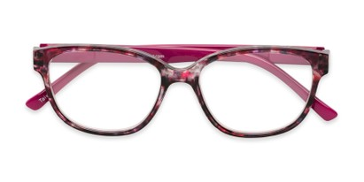 Folded of The Adele in Tortoise/Pink