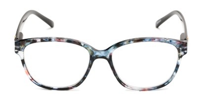 Front of The Adele in Tortoise/Black
