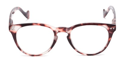 Front of The Agnes in Pink Tortoise