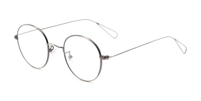 Angle of The Alchemy in Gunmetal, Women's and Men's Round Reading Glasses