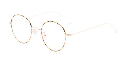 Angle of The Alchemy in Tortoise, Women's and Men's Round Reading Glasses