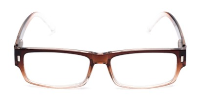Front of The Althorpe in Brown/Clear Fade