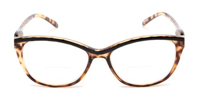 Front of The Ambrosia Bifocal in Brown Tortoise