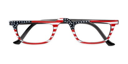 patriotic american flag readers glasses