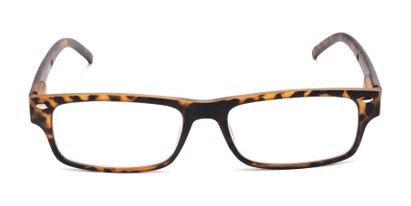 Front of The Anchor Detachable Neck Cord Reader in Tortoise