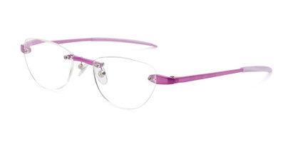 Angle of The Annabelle in Light Purple, Women's and Men's