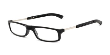 c230d4b77d4c Angle of The Apricot Folding Reader in Black, Women's and Men's Rectangle Reading  Glasses