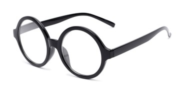 f3de1bb5ce9a Thick-Rimmed Oversized Round Reading Glasses