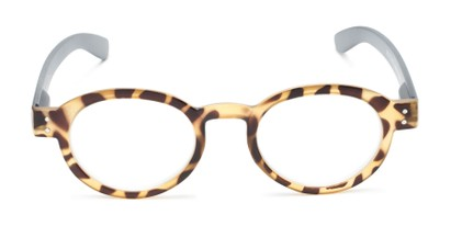 Front of The Ari in Tortoise with Grey