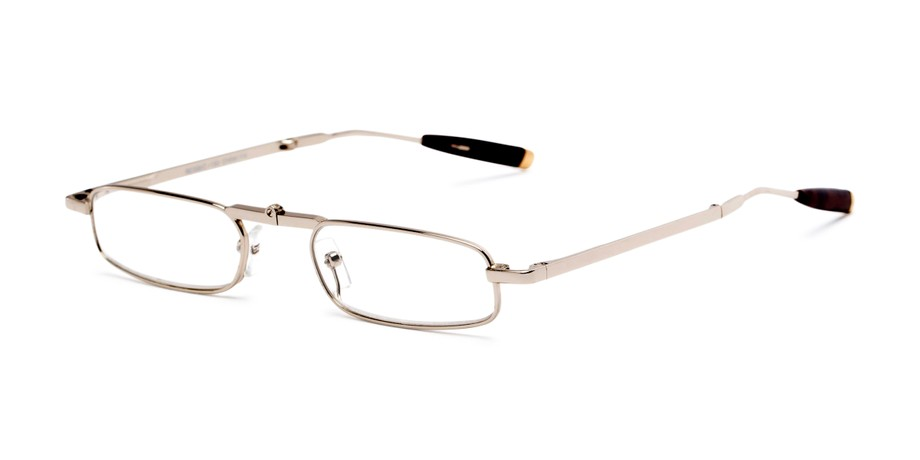 5bed8b7a2add Compact Full Frame Folding Metal Reading Glasses