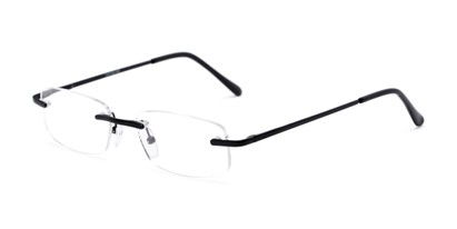 metal rimless reading glasses
