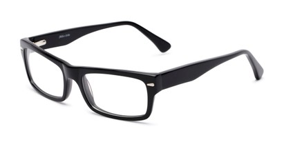 Angle of Atwood by felix + iris in Black, Women's and Men's Retro Square Reading Glasses