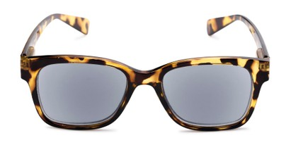 Front of The Azalea Reading Sunglasses in Tortoise with Smoke