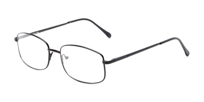 Angle of Barnes by felix + iris in Black, Men's Rectangle Reading Glasses