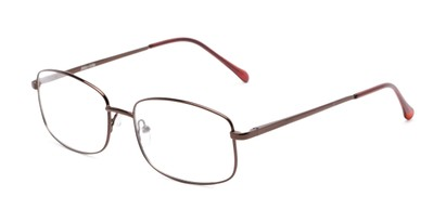 Angle of Barnes by felix + iris in Bronze, Men's Rectangle Reading Glasses